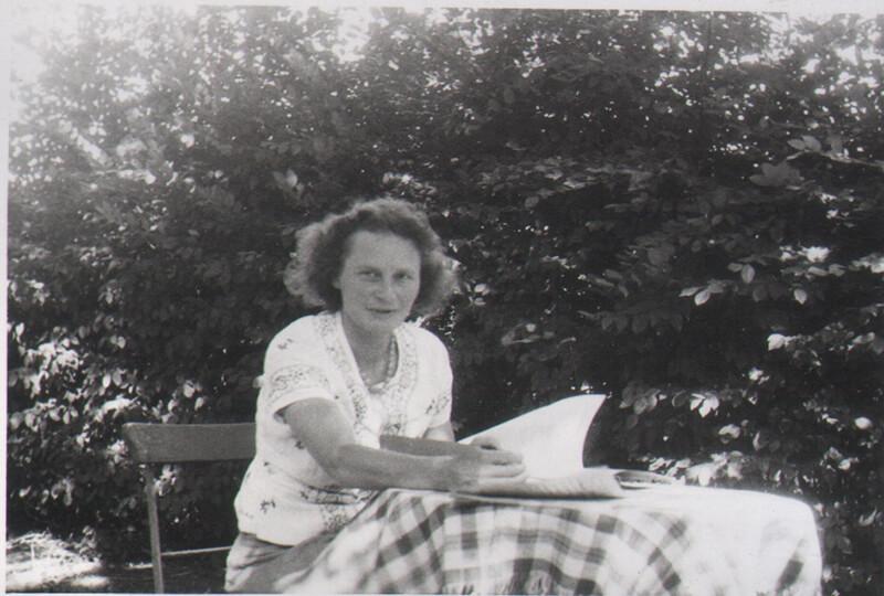 Gerda v.V. Grunau 1943-44