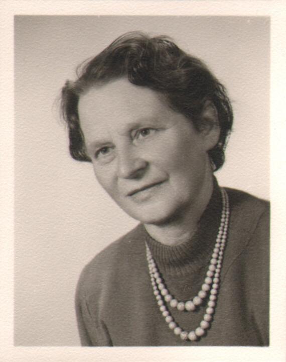 Portait Gerda Voith von Voithenberg