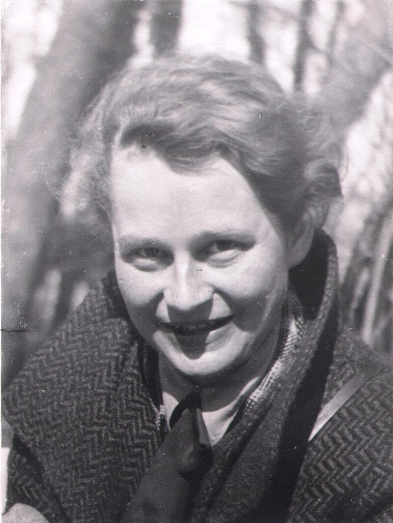 Gerda v. W., Ostpreußen 1934-36