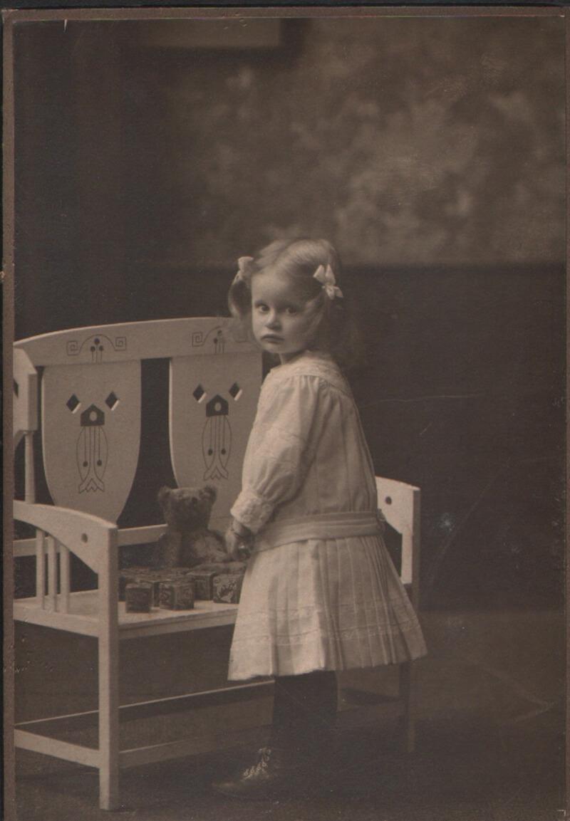 Gerda v. W. als Kind