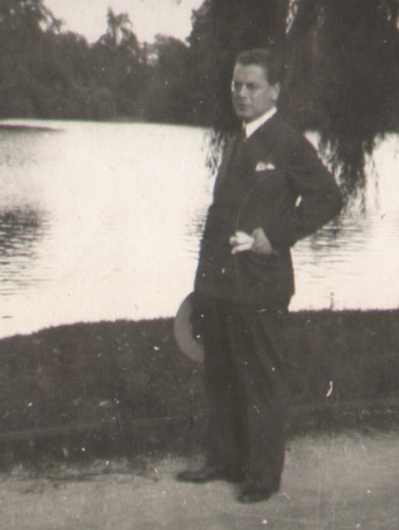 Hans Voith von Voithenberg am 21. September 1930