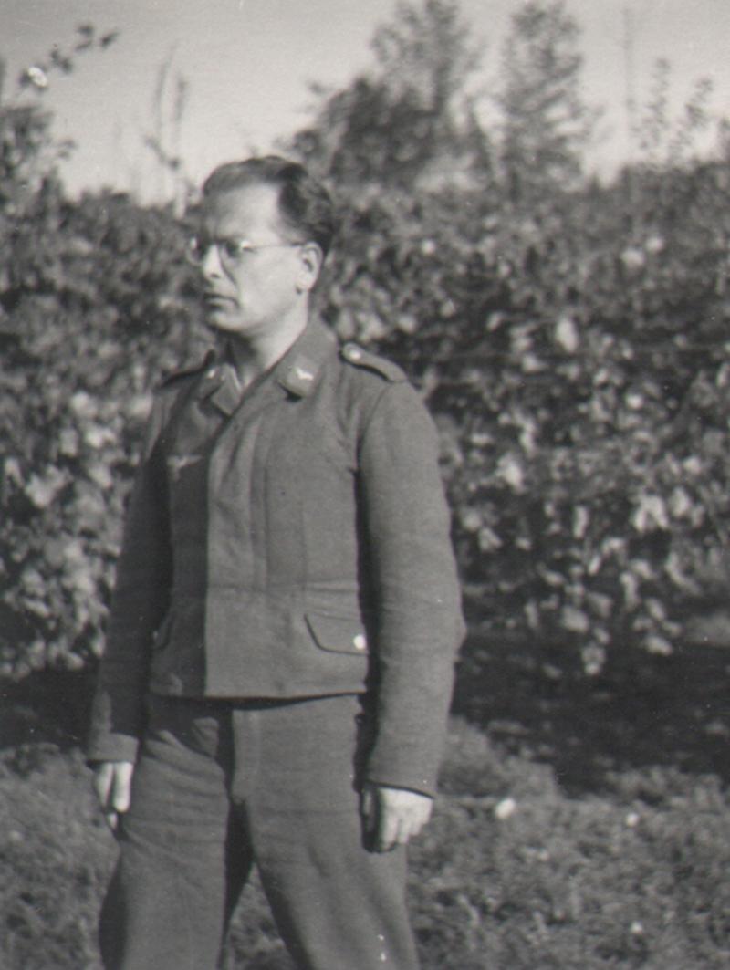 Hans v. V. in Colognola ai Colli in Italien, 1944