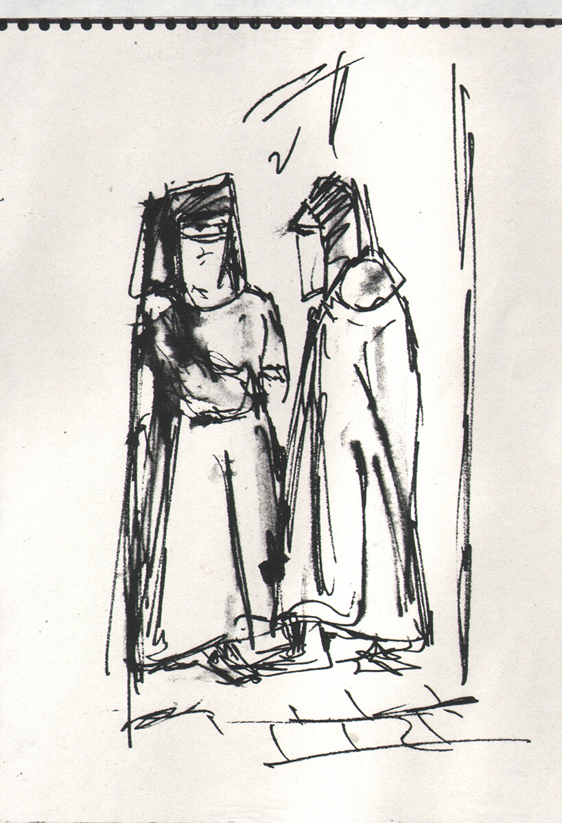 Frauen in Tetuan