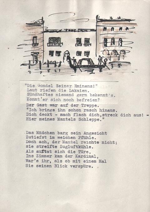 """Hans Voith von Voithenberg - Gedicht """"Purpurhut"""""""