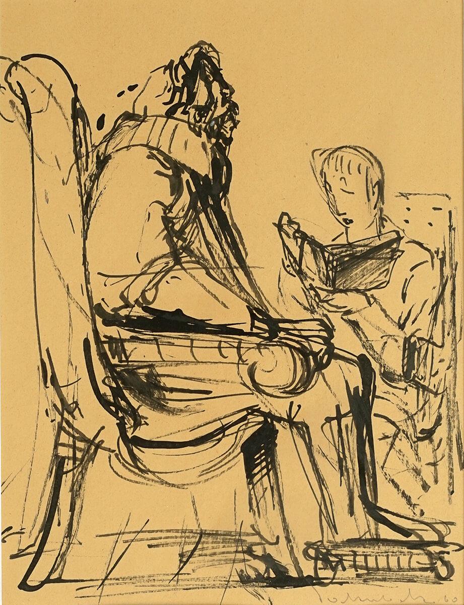 Rudolf Jakubek - ohne Titel, 1960