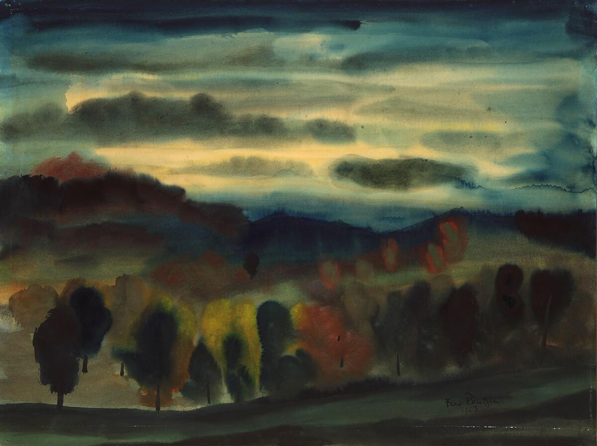 Ferdinand Röntgen - Mondnacht, 1963