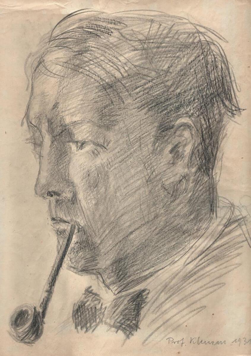 Gerda v. W. Zeichnung von 1931, Prof. Klemm